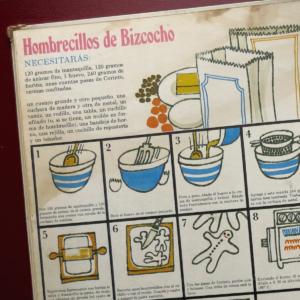 """Página del libro """"Qué divertido es cocinar"""""""