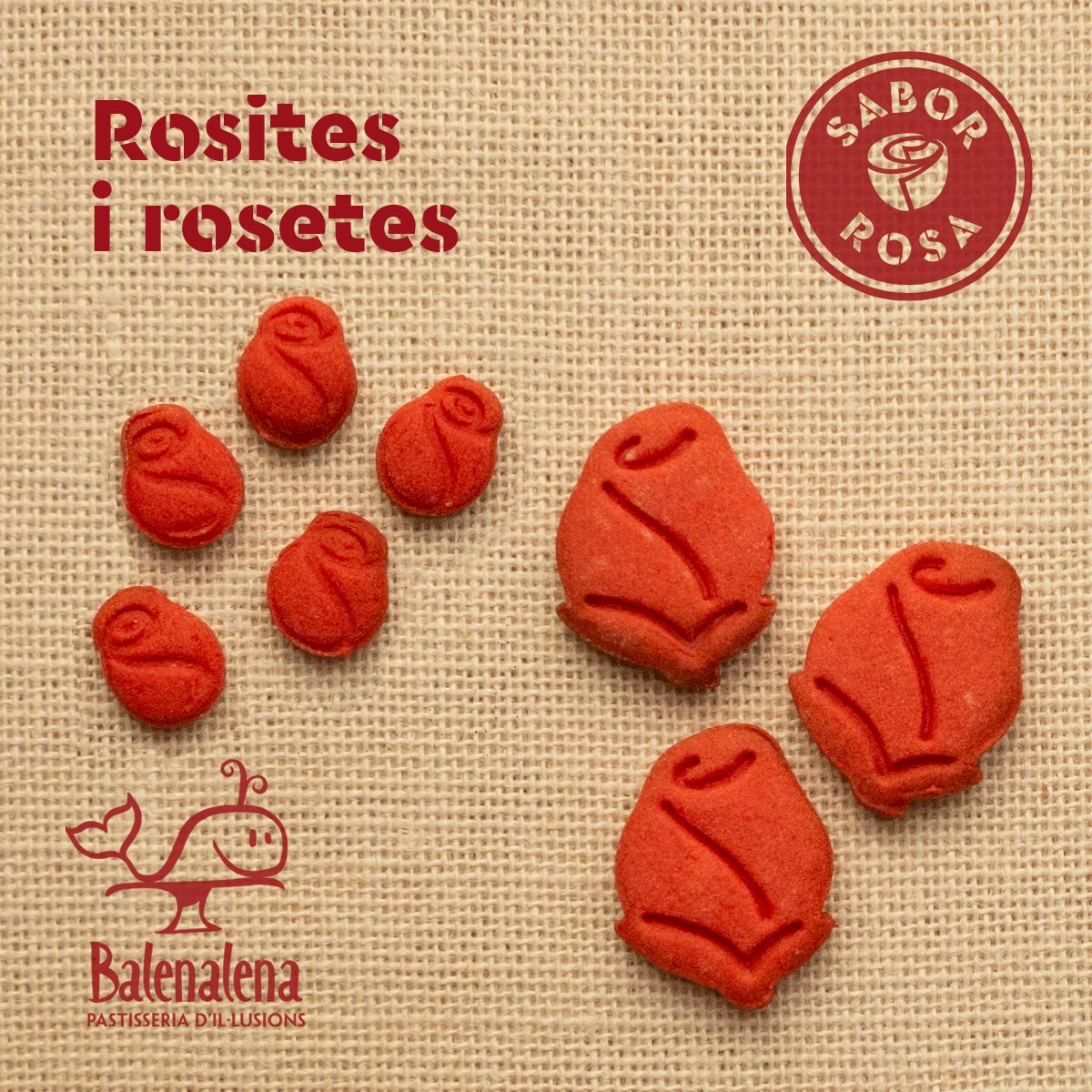 Rosites i rosetes de Sant Jordi